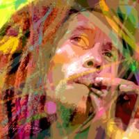 """Bob Marley"" by DavidLloydGlover"