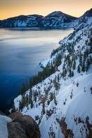 Winter at Crater Lake
