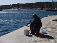 Greek fisherman