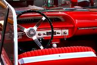 Red Chevy dashboard