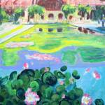Balboa Park Reflecting Pool - San Diego Art by RD Riccoboni