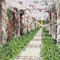 """Huntington Rose Arbor"" by DavidLloydGlover"