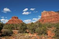 Sedona Bell Rock and Courthouse Butte