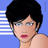 Pop Art Girl Bettina