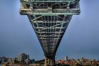 Under the Sydney Harbor Bridge