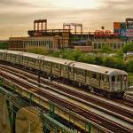 """The 7 train and Citi Field"" by DarrenMeenan"