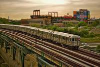 The 7 train and Citi Field