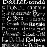 Ballet Subway Art Prints & Posters