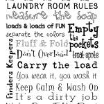 """Laundry Room Rules"" by FriedmanGallery"