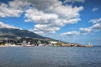Sunny Autumn Day In Yalta, Crimea. September 2011
