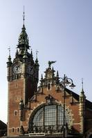 Gdansk train station.