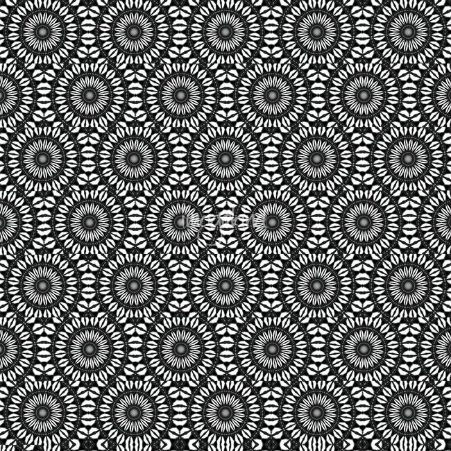 Kaleidoscope black and white alt by heather croxton