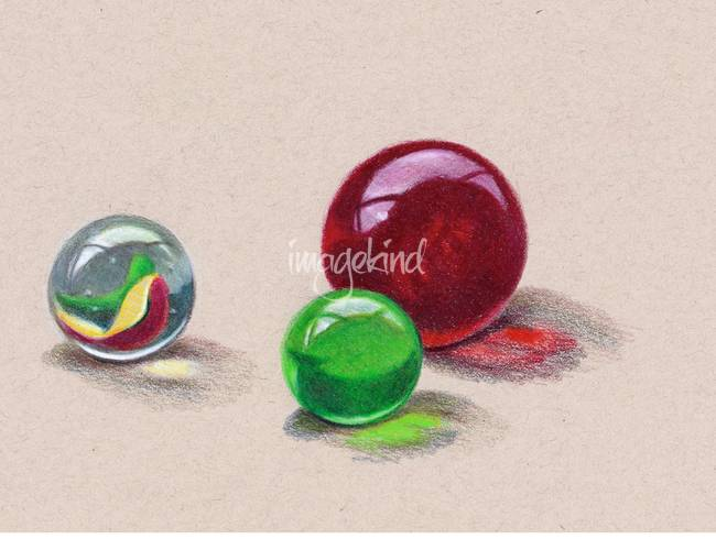 Marble Colored Pencil Drawings Of Clusters : Stunning quot marble colored pencil drawings and