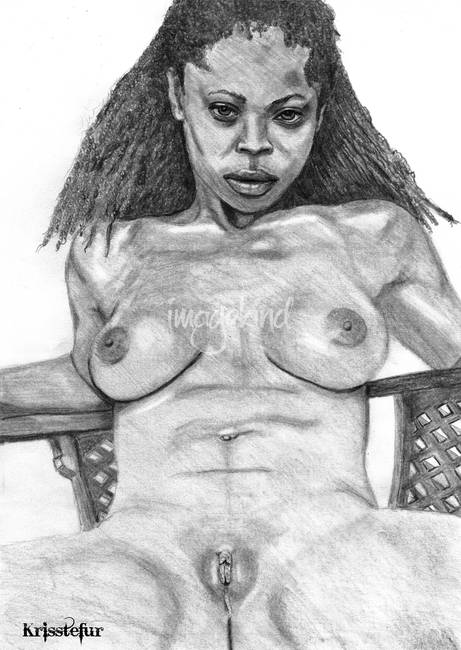 Girl emo nude on dildo