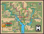 Washington Metro Map 2013 Mario 3 Style