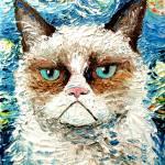 """Vincent van NO"" by SagittariusGallery"