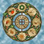 Celtic Wheel of the Year by Kristen Fox