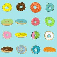 Sixteen Donuts on Aqua