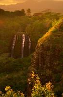 Golden Falls by Joshua Cramer