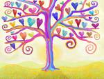 Dream Hearts Magic Tree Posters