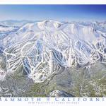"""Mammoth Resort California"" by jamesniehuesmaps"