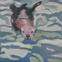 """Otter Love"" by susanswiderski"