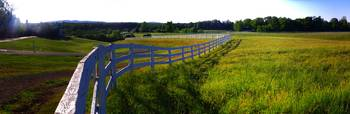 Virginia Fence Panorama