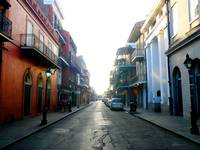 St. Peter Street New Orleans French Quarter