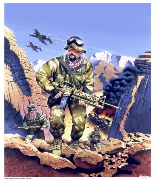 Sas scud hunters gulf war 1991 by marc ericksen sciox Gallery