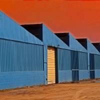 Factory Buildings by Karen Adams