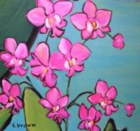 jungle orchids by tracie brown