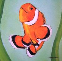 clown fish - dorian by tracie brown