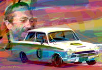 COLIN CHAPMAN LOTUS CORTINA
