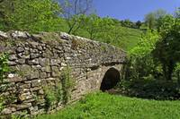 Viator's Bridge at Milldale, Staffordshire