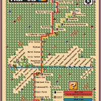 """""""Atlanta MARTA Map - Super Mario 3 Style"""" by originaldave77"""
