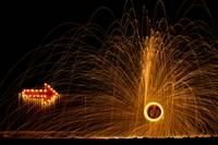 Point the way to the steel wool
