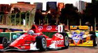 Indy Racing in streets of Baltimore