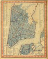 Vintage Map of New York City (1846)