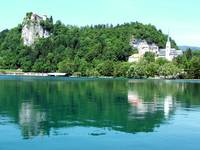 Bled's Castle and Church