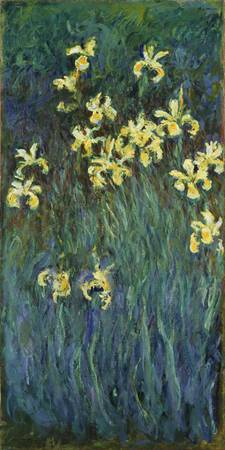 Claude Monet - Yellow Irises