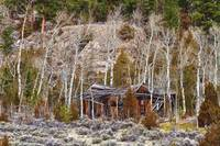 Rural Rustic Rundown Rocky Mountain Cabin