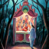 The Mask Shop by Mark Bryan
