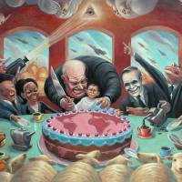 The Mad Tea Party by Mark Bryan
