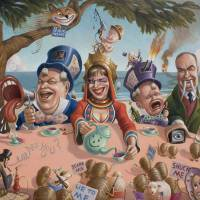 The Mad Tea Party, part Duh by Mark Bryan