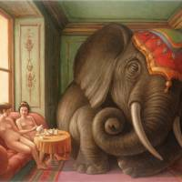 Elephant in the Room by Mark Bryan