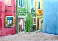 Colorful Houses of Burano Italy