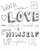 Walk in Love (Simple) - Eph. 5:2