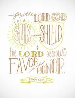 Sun & Shield (Simple) - Psalm 84:11