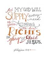 Every Need - Phil. 4:19