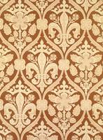 'Fleur-de-Lis', reproduction wallpaper designed b